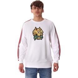 textil Herre Sweatshirts Sprayground 20SP024WHT hvid