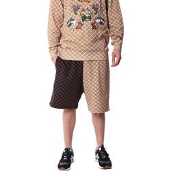 textil Herre Shorts Sprayground 20SP029 Brun