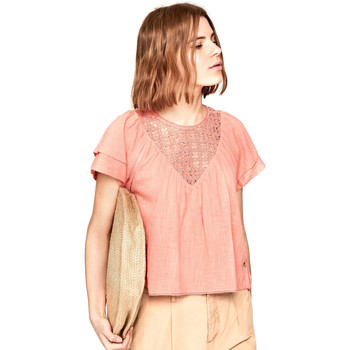 textil Dame Toppe / Bluser Pepe jeans PL303306 Lyserød