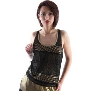 textil Dame Toppe / T-shirts uden ærmer Ttp.it HT2013D Sort