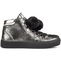 Sko Børn Høje sneakers Lumberjack SG47703 002 A11 Sort