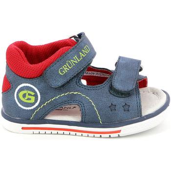 Sko Børn Sandaler Grunland PS0017 Blå
