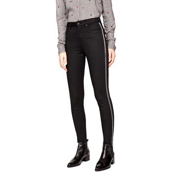 textil Dame Smalle jeans Pepe jeans PL2031380 Sort