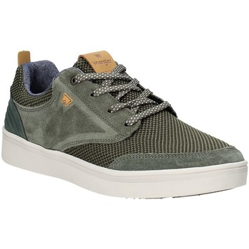 Sko Herre Lave sneakers Wrangler WM91001A Grøn