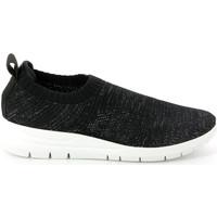 Sko Dame Lave sneakers Grunland SC4434 Sort