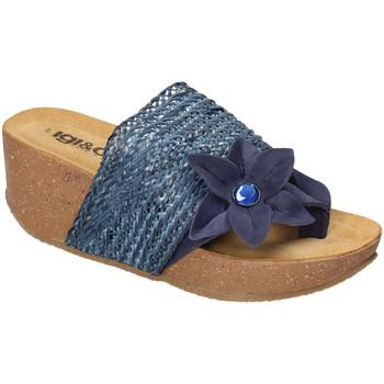 Sko Dame Sandaler IgI&CO 3199411 Blå