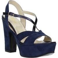 Sko Dame Sandaler Grace Shoes TQ 126 Blå