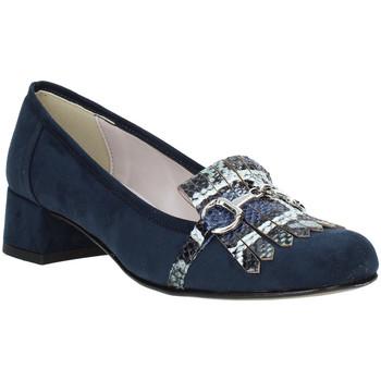 Sko Dame Mokkasiner Grace Shoes 171002 Blå