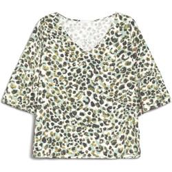 textil Dame T-shirts m. korte ærmer Nero Giardini E062770D Grøn