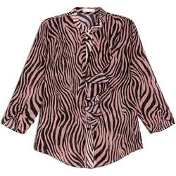 textil Dame Skjorter / Skjortebluser NeroGiardini E063181D Sort