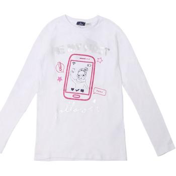 textil Børn Langærmede T-shirts Chicco 09006871000000 hvid