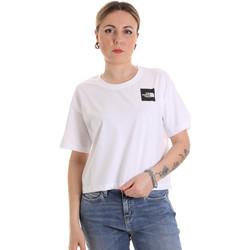 textil Dame T-shirts m. korte ærmer The North Face NF0A4SY9FN41 hvid