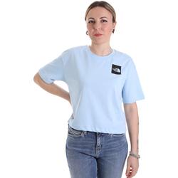 textil Dame T-shirts m. korte ærmer The North Face NF0A4SY9JH51 Blå