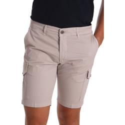 textil Herre Shorts Sei3sei PZV130 7148 Beige