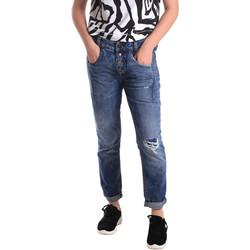 textil Dame Smalle jeans Fornarina BER1I27D785IM Blå