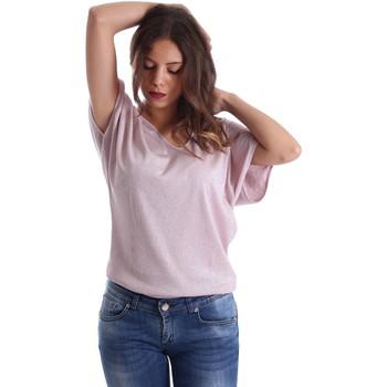 textil Dame Toppe / Bluser Fornarina SE175J78JG01C5 Lyserød
