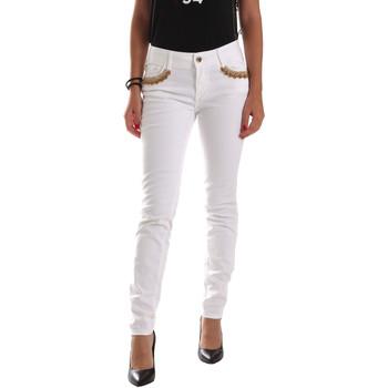 textil Dame Chinos / Gulerodsbukser Gaudi 911BD26030 hvid