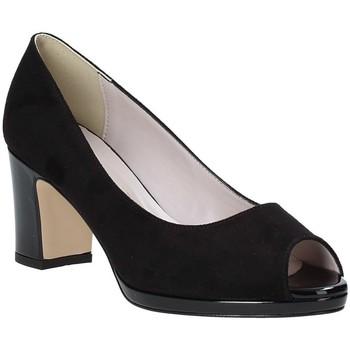Sko Dame Højhælede sko Grace Shoes 007001 Sort