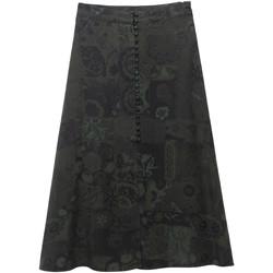 textil Dame Nederdele Desigual 19WWFW16 Grøn