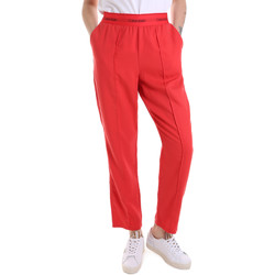 textil Dame Træningsbukser Calvin Klein Jeans K20K201765 Rød