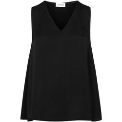 textil Dame Toppe / Bluser Calvin Klein Jeans K20K201807 Sort