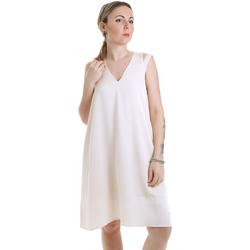 textil Dame Korte kjoler Calvin Klein Jeans K20K202022 Beige