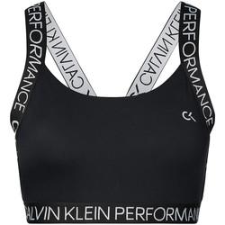 textil Dame Sports-BH Calvin Klein Jeans 00GWH9K169 Sort