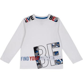 textil Børn Langærmede T-shirts Chicco 09006867000000 hvid