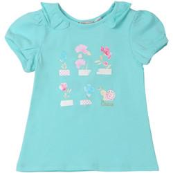 textil Børn T-shirts m. korte ærmer Chicco 09006969000000 Blå