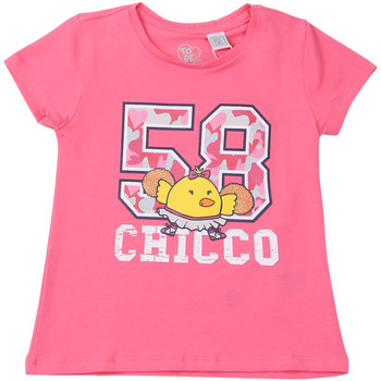 textil Børn T-shirts m. korte ærmer Chicco 09006955000000 Lyserød