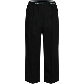 textil Dame Løstsiddende bukser / Haremsbukser Calvin Klein Jeans K20K201766 Sort