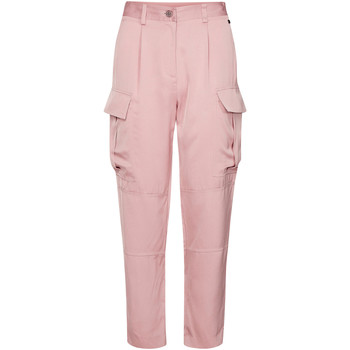 textil Dame Cargo bukser Calvin Klein Jeans K20K201768 Lyserød