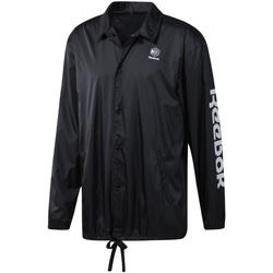 textil Herre Vindjakker Reebok Sport DT8205 Sort