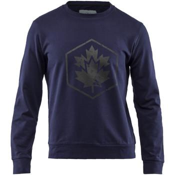textil Herre Sweatshirts Lumberjack CM60142 001 502 Blå