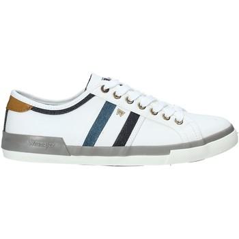 Sko Herre Lave sneakers Wrangler WM91103A hvid