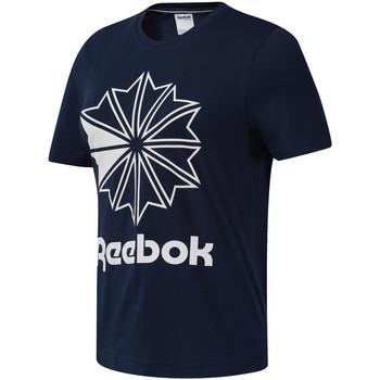 textil Dame T-shirts m. korte ærmer Reebok Sport DT7222 Blå