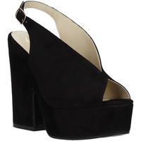 Sko Dame Sandaler Grace Shoes ALBA 107 Sort