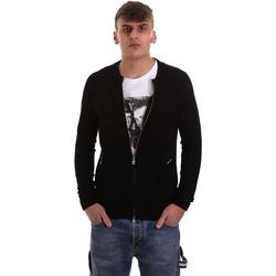 textil Herre Veste / Cardigans Gaudi 921BU53015 Sort