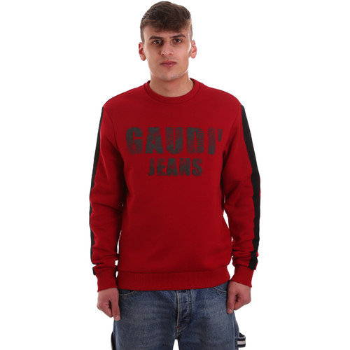textil Herre Sweatshirts Gaudi 921BU64051 Rød