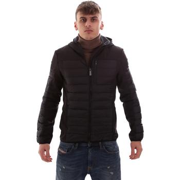 textil Herre Dynejakker Lumberjack CM69422 001 601 Sort