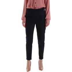textil Dame Chinos / Gulerodsbukser Gaudi 921BD25023 Blå