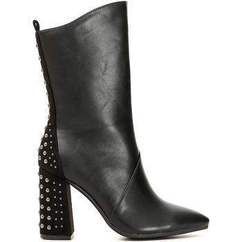 Sko Dame Chikke støvler Café Noir MA944 Sort