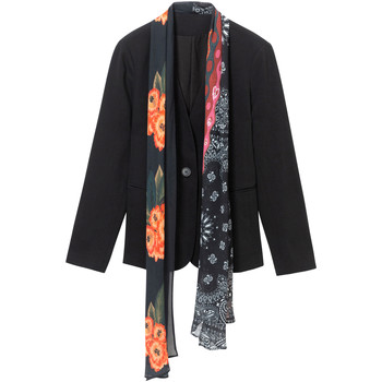 textil Dame Jakker / Blazere Desigual 19WWEWAP Sort