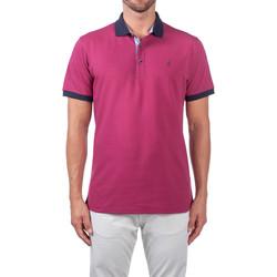 textil Herre Polo-t-shirts m. korte ærmer Navigare NV82124 Violet