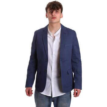 textil Herre Jakker / Blazere Gaudi 011BU35025 Blå