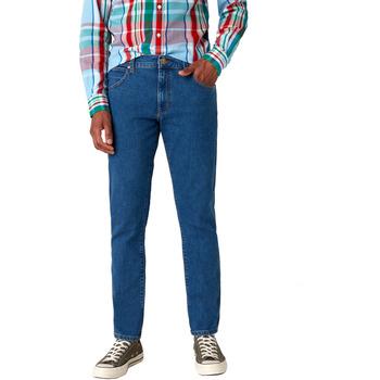 textil Herre Smalle jeans Wrangler W18SHR36B Blå
