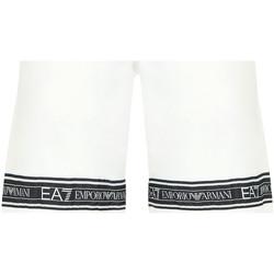 textil Herre Badebukser / Badeshorts Ea7 Emporio Armani 3HPS56 PJ05Z hvid