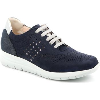 Sko Dame Lave sneakers Grunland SC4874 Blå