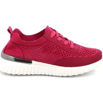 Sko Dame Lave sneakers Grunland SC4906 Lyserød