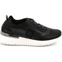 Sko Dame Lave sneakers Grunland SC4905 Sort